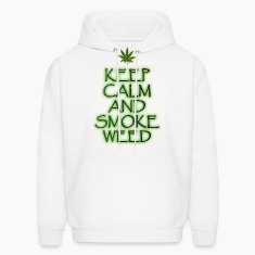 Keep Calm and Smoke weed Hoodies