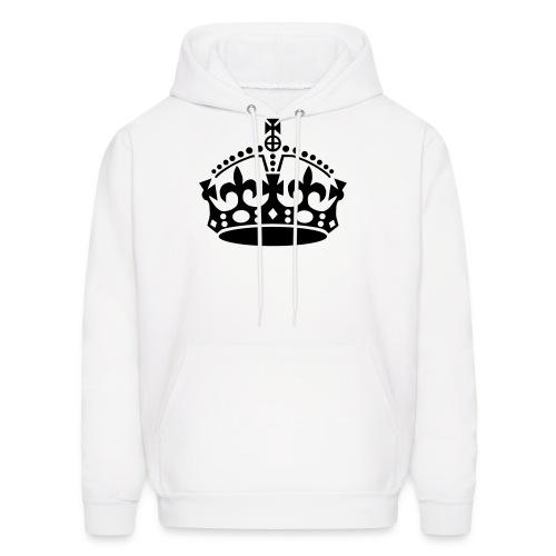 Crown Hoodie - White - Men's Hoodie