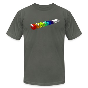 BULGEBULL PRIDE '13 - Men's T-Shirt by American Apparel