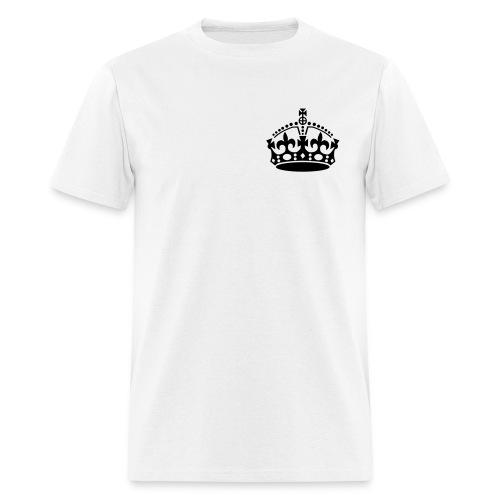 Crown Premium Tee - White - Men's T-Shirt