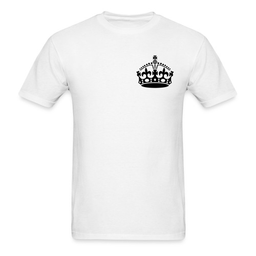 Crown Premium Tee - White - Men's T-Shirt