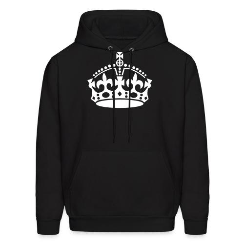 Crown Hoodie - Black - Men's Hoodie