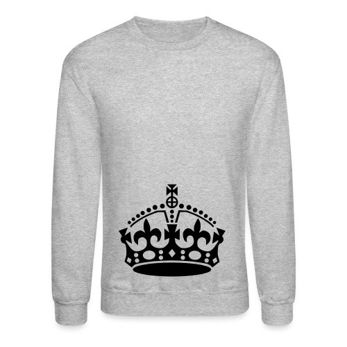 Crown Crewneck - Gray - Crewneck Sweatshirt