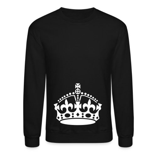 Crown Crewneck - Black - Crewneck Sweatshirt