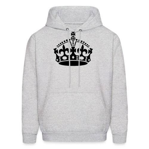 Crown Hoodie - Ash - Men's Hoodie