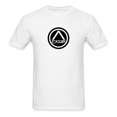 White CAMP tee - Men's T-Shirt