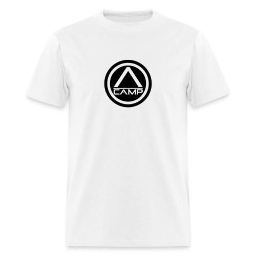 White CAMP tee - Men's T-Shirt