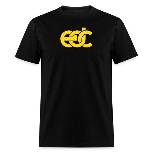 EDC Fan Festival Tshirt - Flock Print Yellow - Men's T-Shirt