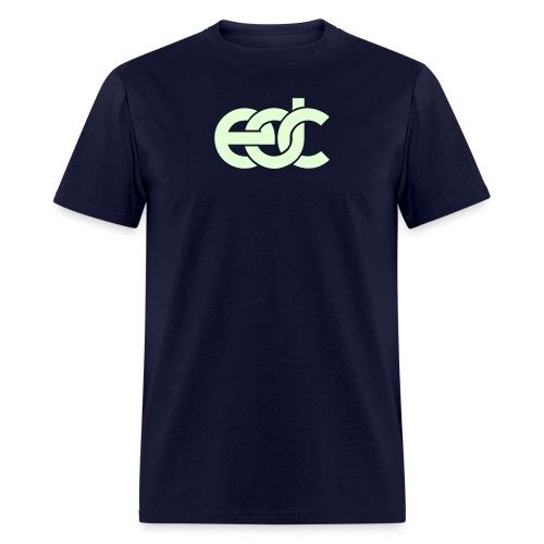 EDC Fan Festival Tshirt - GLOW IN THE DARK - Specialy Flex Print - Men's T-Shirt