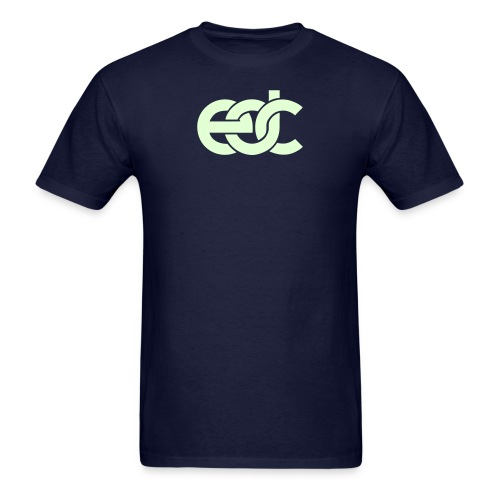 EDC Fan Festival Tshirt - GLOW IN THE DARK - Specialy Flex Print - Men's T-Shirt