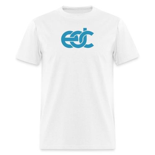 EDC Fan Festival Tshirt - Flock Print Blue  - Men's T-Shirt