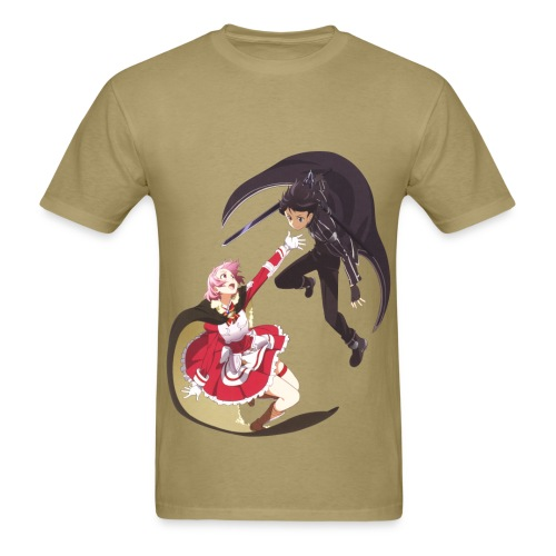 Lisbeth and Kirito Male T Shirts - Men's T-Shirt