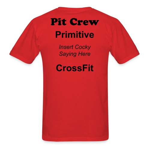 Pit Crew Red - Men's T-Shirt