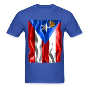 A Little Piece of Puerto Rico  - Men's T-Shirt