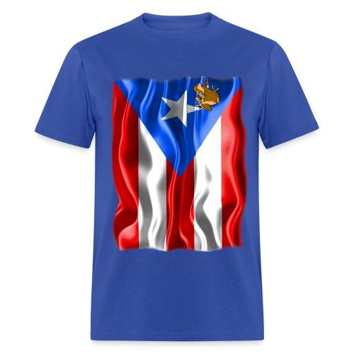 A Little Piece of Puerto Rico  - Men's T-Shirt