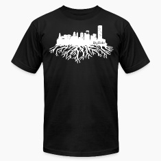 Buffalo New York Skyline  T-Shirts