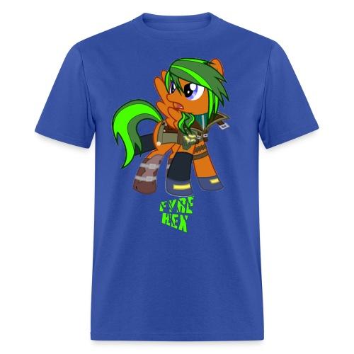 Fyre Hex - Men's T-Shirt