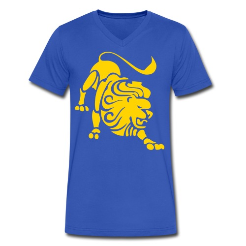 Tiger Tee - Men's V-Neck T-Shirt by Canvas