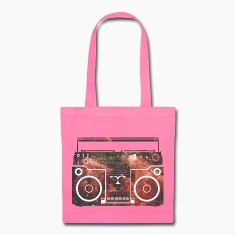 Cosmic Boombox Bags & backpacks