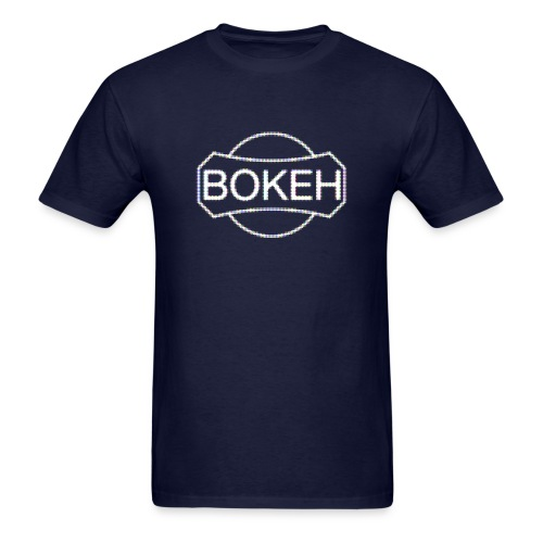 BOKEH logo - Men's T-Shirt