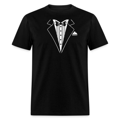 Tuxedo Tee Graphic T-Shirt for the Go! - Men's T-Shirt