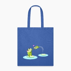 Mother and child cute frogs Bags & backpacks