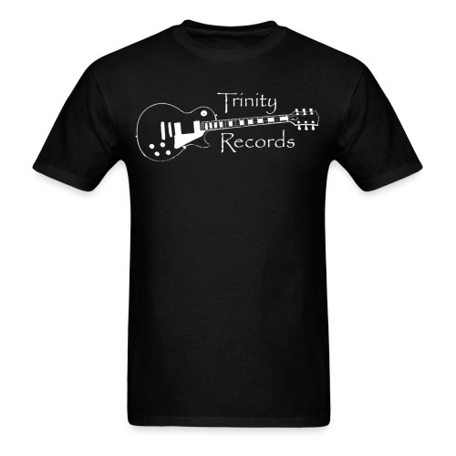Trinity Records - Black - Men's T-Shirt