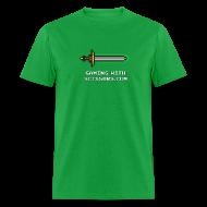 T-Shirts ~ Men's T-Shirt ~ Green Pixel Sword 2 Mens