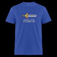 T-Shirts ~ Men's T-Shirt ~ Black Pixel Sword Mens
