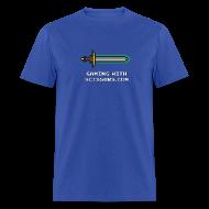 T-Shirts ~ Men's T-Shirt ~ Blue Pixel Sword 2 Mens