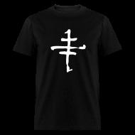 T-Shirts ~ Men's T-Shirt ~ Cruxshadows Cross Logo T