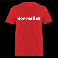 T-Shirts ~ Men's T-Shirt ~ Domonation - Brown Shirt