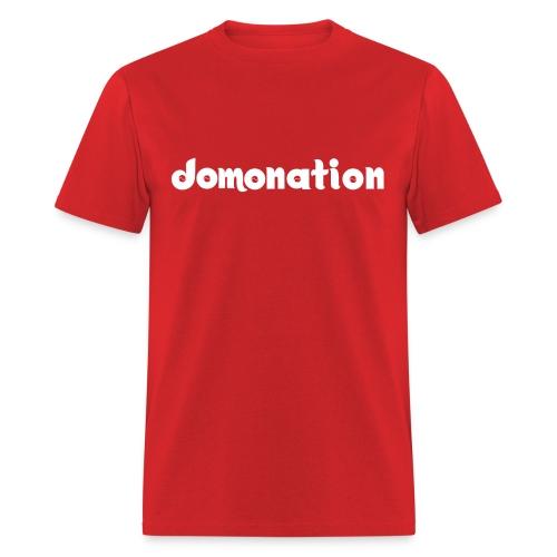 Domonation - Brown Shirt - Men's T-Shirt