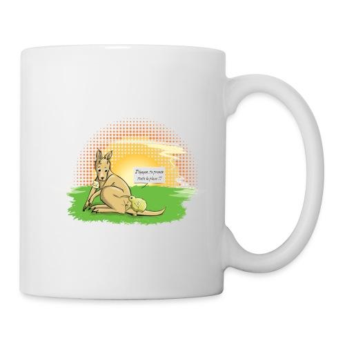 Kiwi Kangaroo Mug - Coffee/Tea Mug