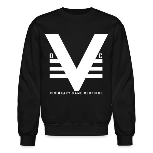 Black/White Visionary Dame Original Crewneck - Crewneck Sweatshirt