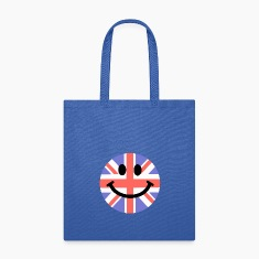 British Flag Smiley Face Bags & backpacks