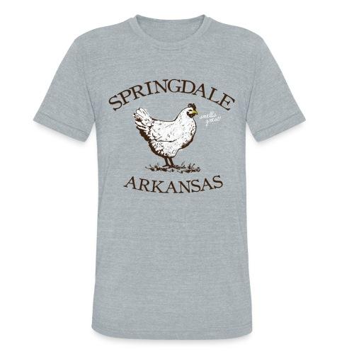 Springdale Smells Great! - Triblend Vintage - Unisex Tri-Blend T-Shirt