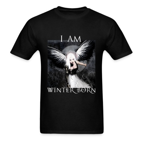 I AM WINTERBORN graphic Tee - Digital Print - Men's T-Shirt