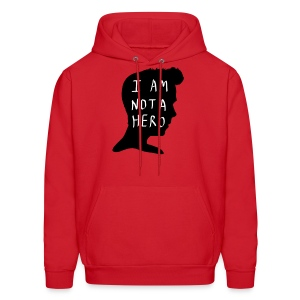 I Am Not A Hero - Men's Hoodie