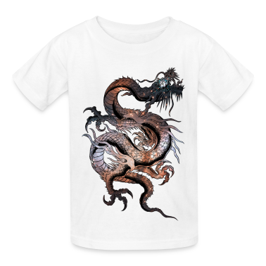 Cosmic Dragon Kids' Shirts