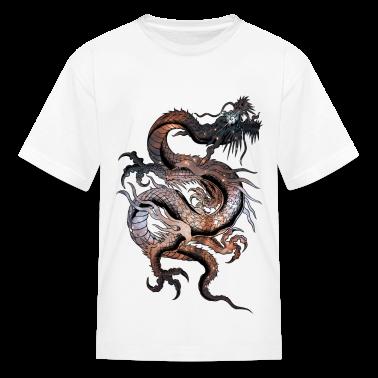 Cosmic Dragon Kids' Shirts