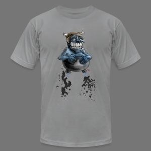 Tricky Warrior Dwarf Demon - Men's Fine Jersey T-Shirt