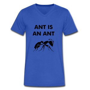 Ant T-Shirt - Men's V-Neck T-Shirt by Canvas