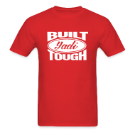 T-Shirts ~ Men's T-Shirt ~ Built Yadi Tough