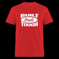 T-Shirts ~ Men's T-Shirt ~ Built Yadi Tough