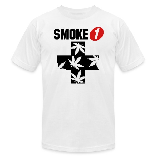 Smoke 1 Men's T-Shirt - Men's Fine Jersey T-Shirt