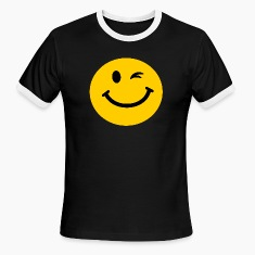 Winking Smiley face T-Shirts