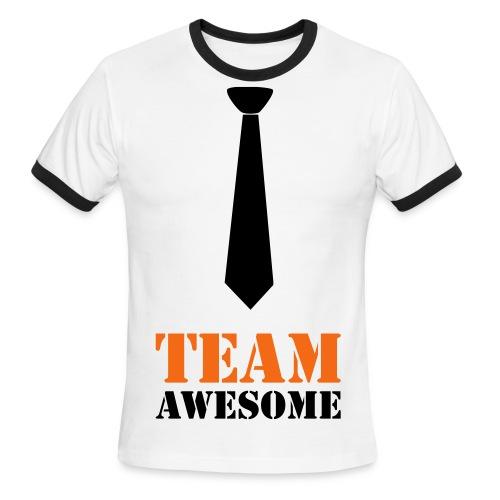 Affirmation Tee - Men's Ringer T-Shirt