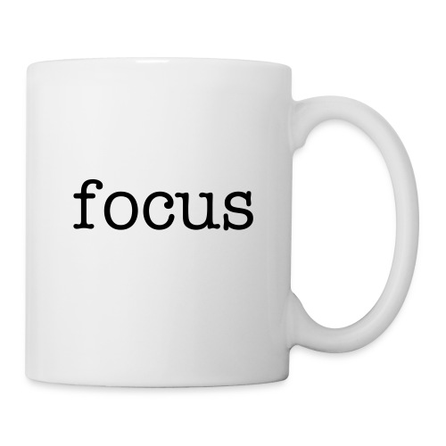 focus coffee mug - Coffee/Tea Mug