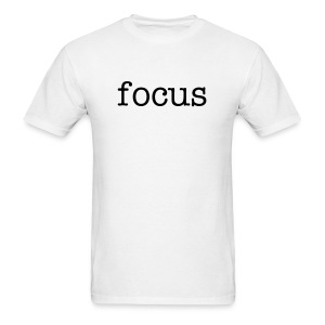 focus t-shirt standard sizes - Men's T-Shirt